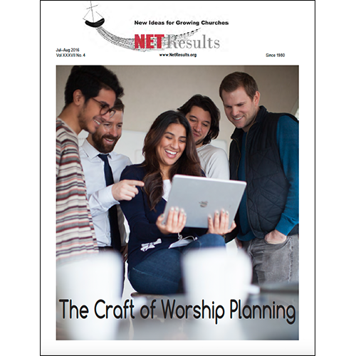 Jul-Aug 2016: The Craft of Worship Planning